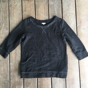Old Navy Black 3/4 sleeved sweater